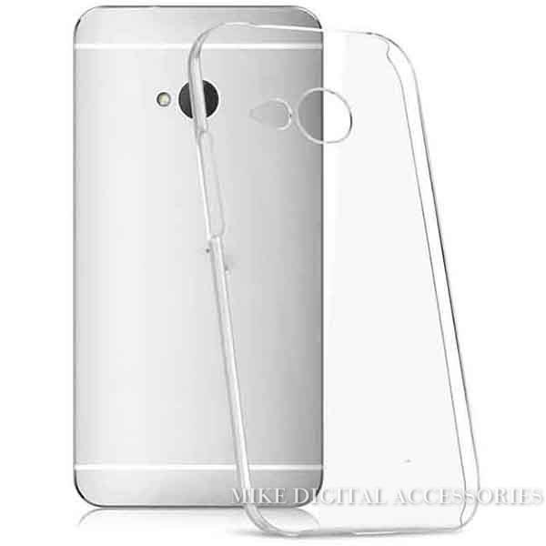 HTC M8 mini One 2 New Transparent Case Hard Plastic Crystal Clear Luxury Protective Cover - Mike digital accessories store
