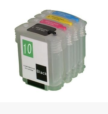 1 set for HP10 11 Refillable Ink cartridge For HP 10 11 ink cartridge For HP 1000 1200 2000 2200 2250 2280 2300 2600 2800 1300(China (Mainland))