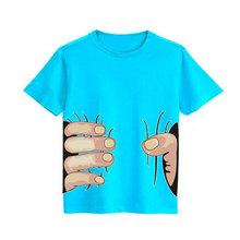 New 2016 boys girls t shirt cartoon anime figure despicable me minions clothes minion costume children