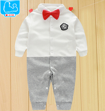 Baby Rompers Children Autumn Clothing Set Newborn Baby Clothes Cotton Baby Rompers Long Sleeve Baby Girl Clothing Jumpsuits(China (Mainland))