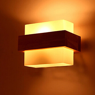 Northern Europe Style Wood LED Wall Light Lamps For Home Lighting,Wall Sconce Arandela Lamparas De Pared(China (Mainland))