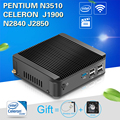 XCY Mini pc N2840 N2940 J1900 Industrial Mini PC Tablet Computer office Desktop Win7 10 Linux