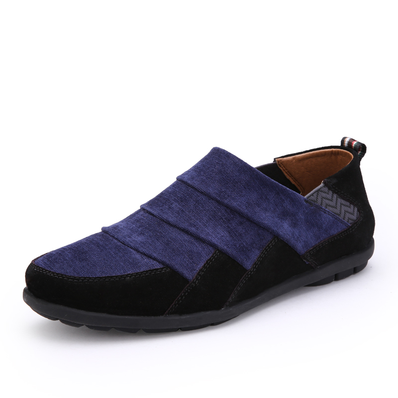 Mens shoes casual fashion men shoes luxury brand 2016 new flat shoes for men loafers breathbale slip on shoes chaussure homme