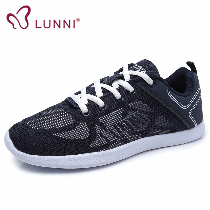 LUNNI 2016 new how sale women running shoes sports shoes all black outdoor walking athletic shoes sneakers women free shopping(China (Mainland))