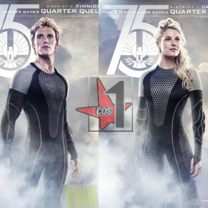 Hot Jumpersuits The Hunger Games cosplay costumes  for Katniss Everdeen Peeta Mellark Gale Hawthorne Hollywood movies CN0541Одежда и ак�е��уары<br><br><br>Aliexpress