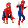 Fashion Red Spiderman Costume Black Batman Superman Halloween Costumes For Kids Superhero Capes Anime Cosplay