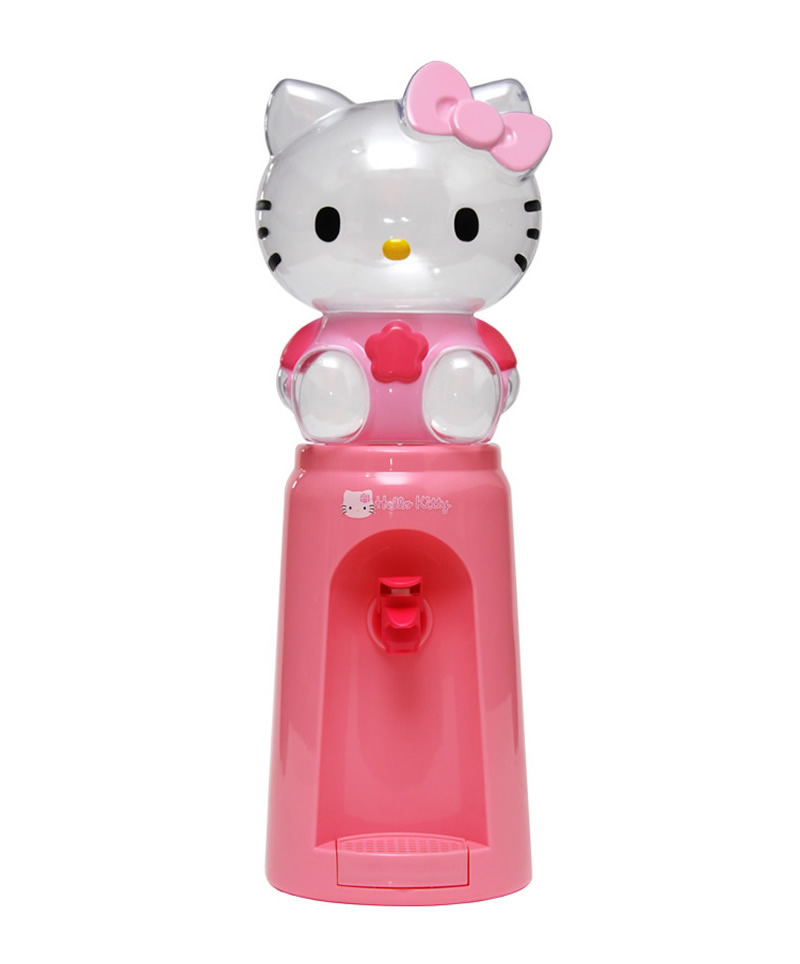 Mini Cartoon Water Dispenser Fountain Drinking 8 Glasses Hello Kitty Mickey Drinkware Bottle 2 Litres Desk Type Table Model(China (Mainland))