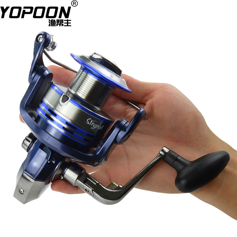 New Pesca Fishing Reel Super Strong Lines SSV1000-7000 Series 10BB Bearings Ball Left/Right Collapsible Handlle Tackle Fish Reel(China (Mainland))