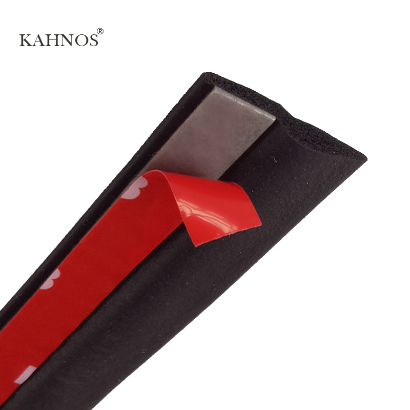 KAHNOS Z Seal Trim 3M Car Rubber Seal Filler Adhesive High Density Car Door Seal Strip Noise Insulation car accessories(China (Mainland))