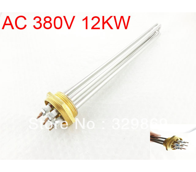 AC 380V 12KW 6P Terminals Water Boiler Heating Element 3U Shaped Tube Heater<br><br>Aliexpress