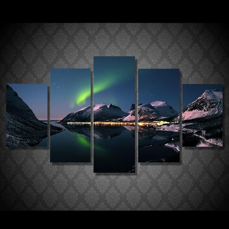 Vergelijk prijzen op Picture Northern Lights - Online winkelen ...