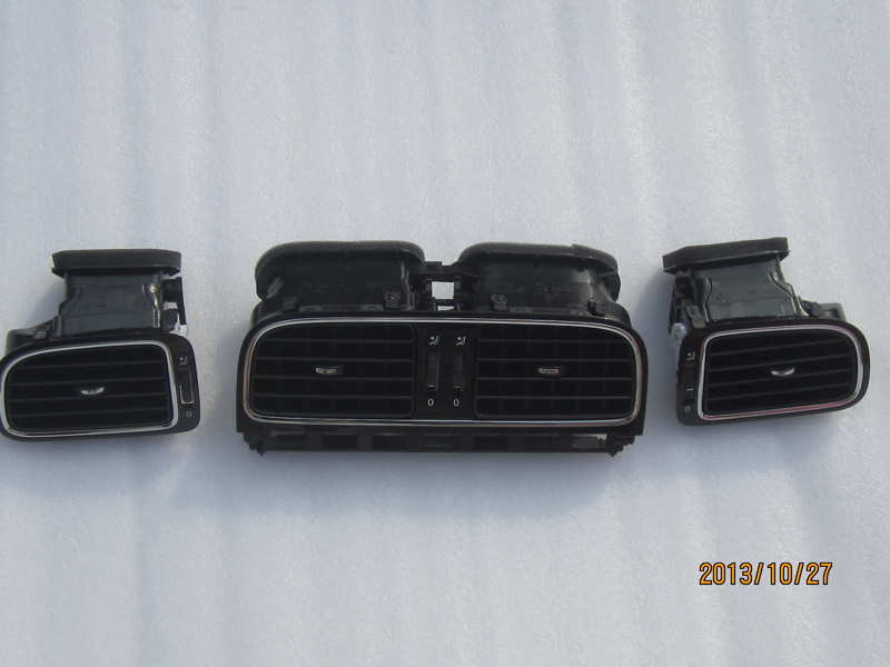 2011-2013 OEM VW NEW POLO Polo 6R chroming dashboard air vents(China (Mainland))