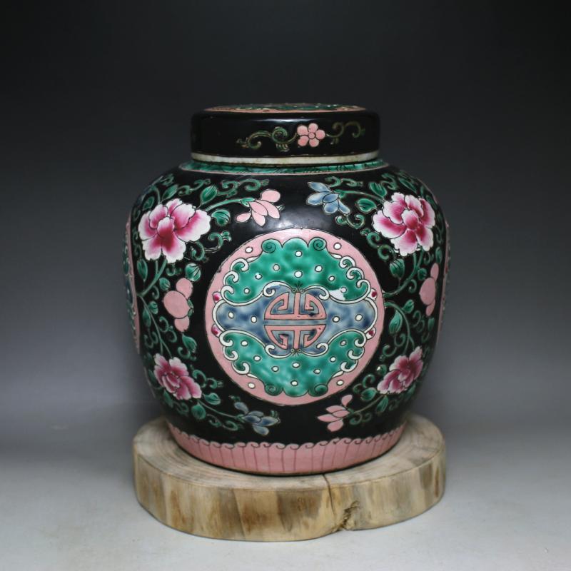 Online kaufen gro handel black glazed flower pots aus for Schwarze blumentopfe