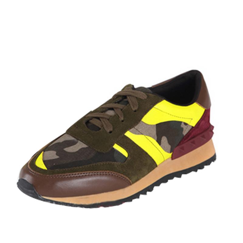 new 2014 casual camo sneaker fashion platform shoes