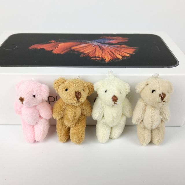 10 шт./лот супер мило 4 см совместное боути медведь с коротким плюшевые игрушки детей чучело куклы свадебный подарок для детей BL1161
