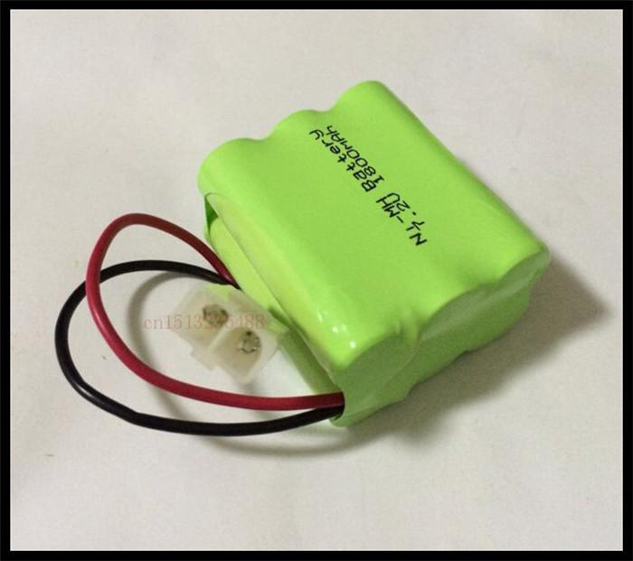 1 PCS/lot KX Original New Ni-MH 7.2V AA 1800mAh Ni-MH Rechargeable Battery Pack With Plugs Free Shipping(China (Mainland))