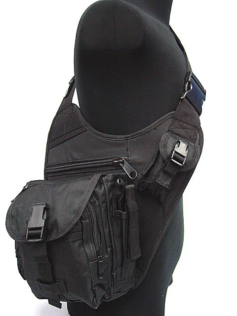 Tactical US Airsoft SWAT Utility Shoulder Bag Pouch BK tool bag(China (Mainland))