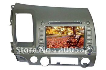 """7"""" Special Car DVD Navigation system for Honda Civic with TV Bluetooth IPOD Radio"""