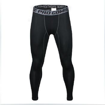 Бег брюки мужчины спорт на открытом воздухе запуск колготки mensports леггинсы фитнес брюки работает леггинсы corriendo сми Pantalones