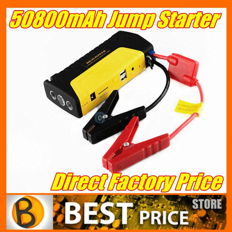2015 High Quality Auto Emergency Car Jump Starter 50800mAh for Petrol Car 12v Portable Jump Starter Power Bank(China (Mainland))