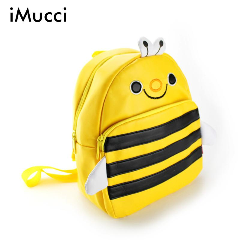 Hot Sale Children Cute Pu Leather Backpack Kids Cartoon Animal School Bag Kindergarten Satchels Mochila Bolsas Free Shipping<br><br>Aliexpress