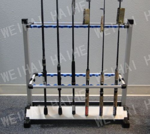 Фотография aluminium fishing rod display rack
