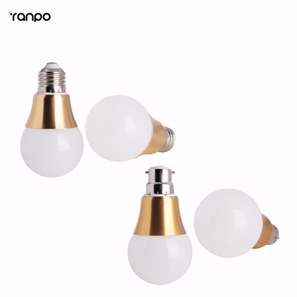 Super Bright LED Globe Bulb E27 3W 5W 7W 9W 85-265V Lights Cold White/Warm White Lampada B22 Bayonet 1PCS Free Shipping(China (Mainland))
