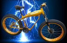 Aluminiumlegierung Fett Reifen Mountainbike 27 Geschwindigkeit Gabel Aussetzung Doppel Scheibenbremse(China (Mainland))