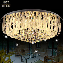 Luces Led Para Casas Lampara Techo Modern Crystal Ceiling Lights Plafon LED 50 60 80 Luxury Ceiling Lamp Lighting Lampara Techo(China (Mainland))