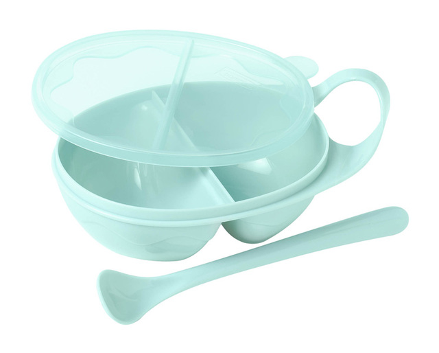 Bambino new arrival child tableware baby dish baby bowl 2 1 set bpa