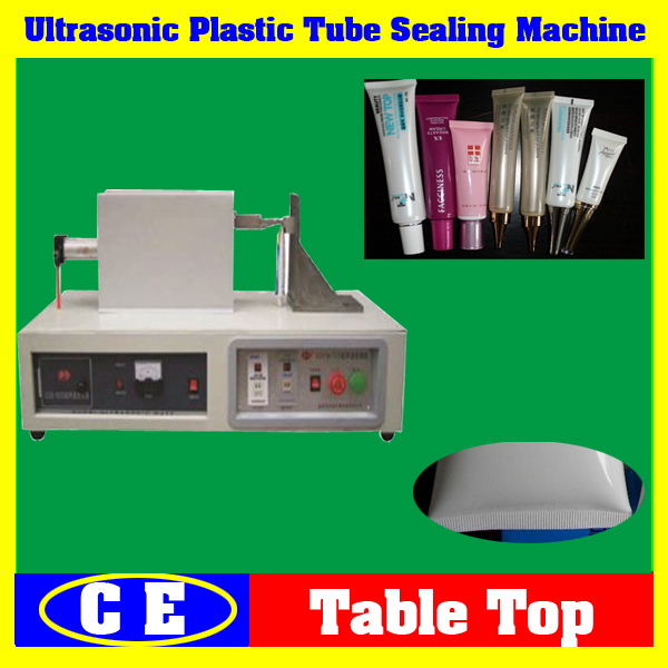 Aluminum or Plastic Tube Sealer Machine from China Factory,Semi-Auto Hand Control Ultrasonic Aluminum Tube Sealing Machine(China (Mainland))