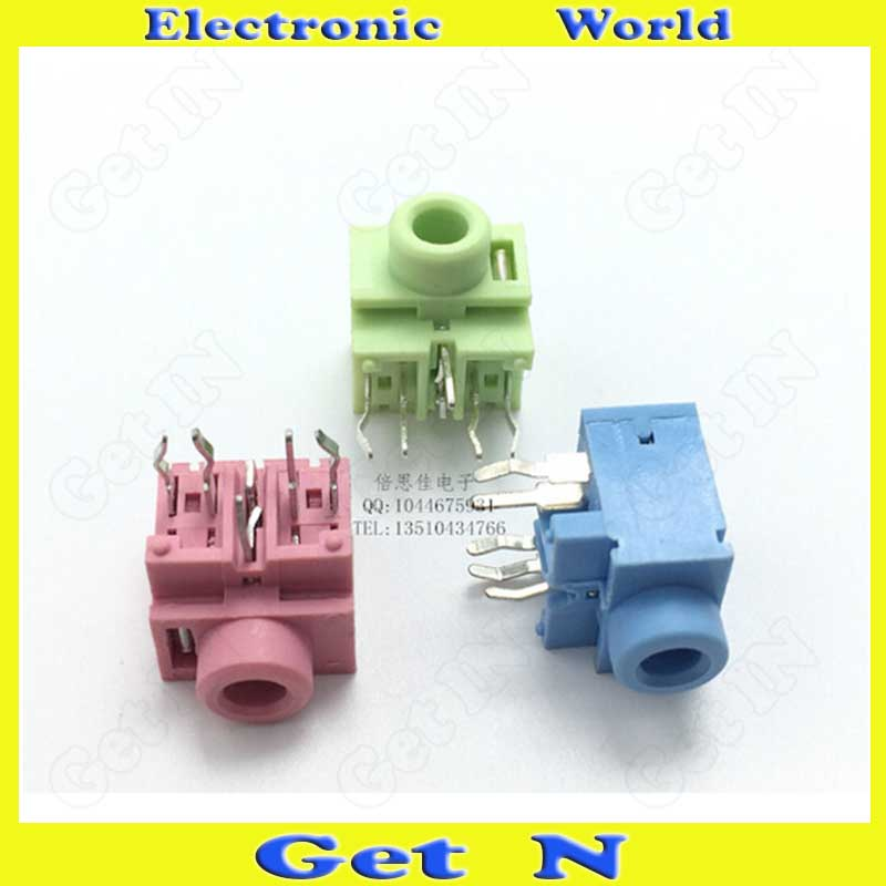 2000pcs    PJ-317 3.5mm Auido Jack 0357 Connectors 3.5 Headphone Earphone Connectors Socket<br><br>Aliexpress