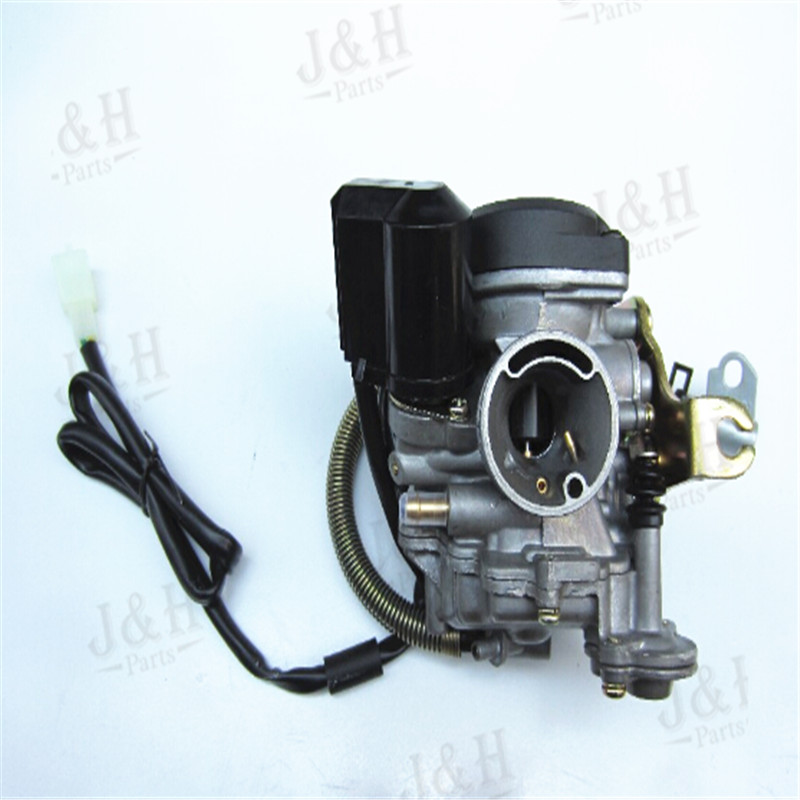 Free Shipping 2042J 18mm Carburetor Fit Motorcycle GY6 50cc Scooter Moped 2042 Engine 139QMB 139QMA ABM IRBIS BAJA(China (Mainland))