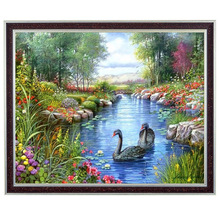 Buy Needlework,Diamond embroidery,diy full drill diamond painting cross stitch,picture 5d crystal rhinestones mosaic animal swans for $7.98 in AliExpress store