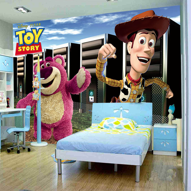 Toy story photo murals 3d wallpaper custom 3 d wall paper - Papel tapiz infantil ...