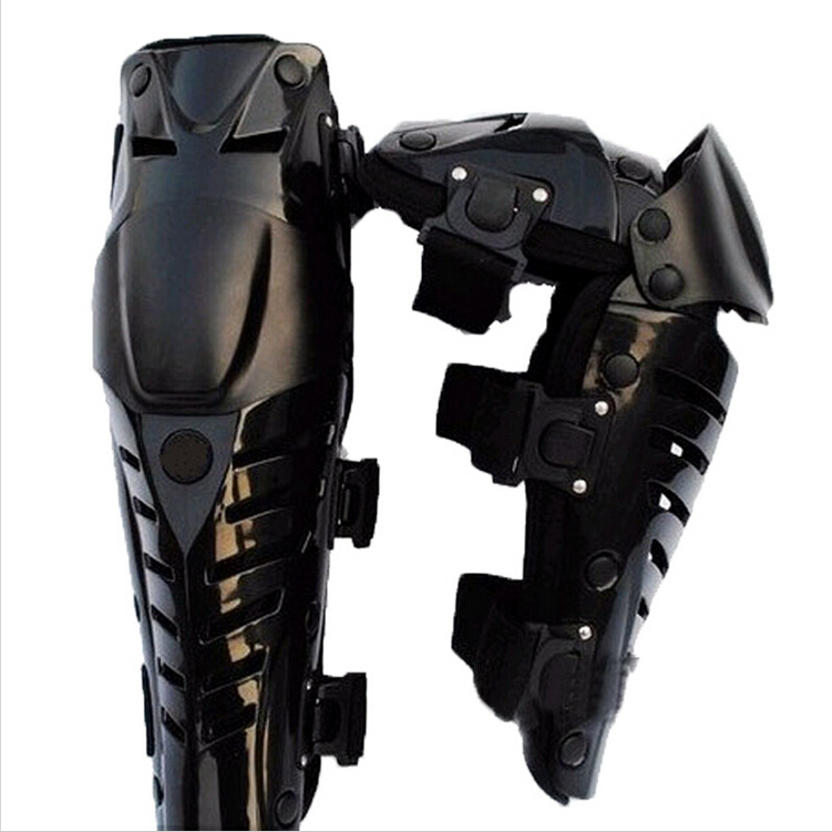 Black Motorcycle Racing Protective Gear Knee Protector Body Pads Knee Guards Armour Motocross Kneepad Cycling Armor