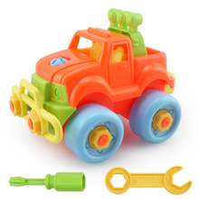 2016 Plastic Kids Disassembly Toy Car Child Educational Toys Cars Baby Classic Christmas Gift(China (Mainland))