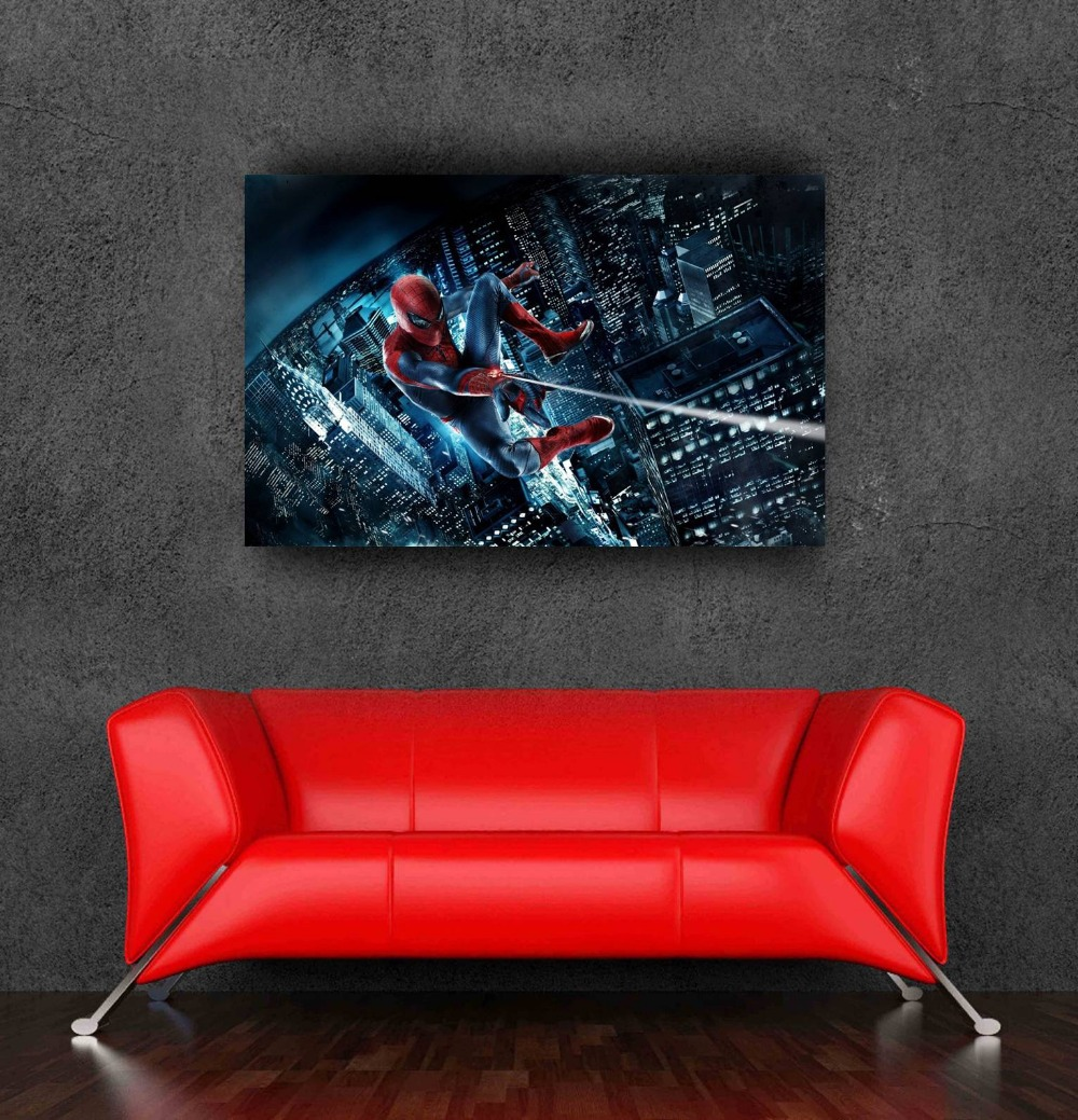 Hot Sale Spiderman Poster Decorative Stickers For Bedroom