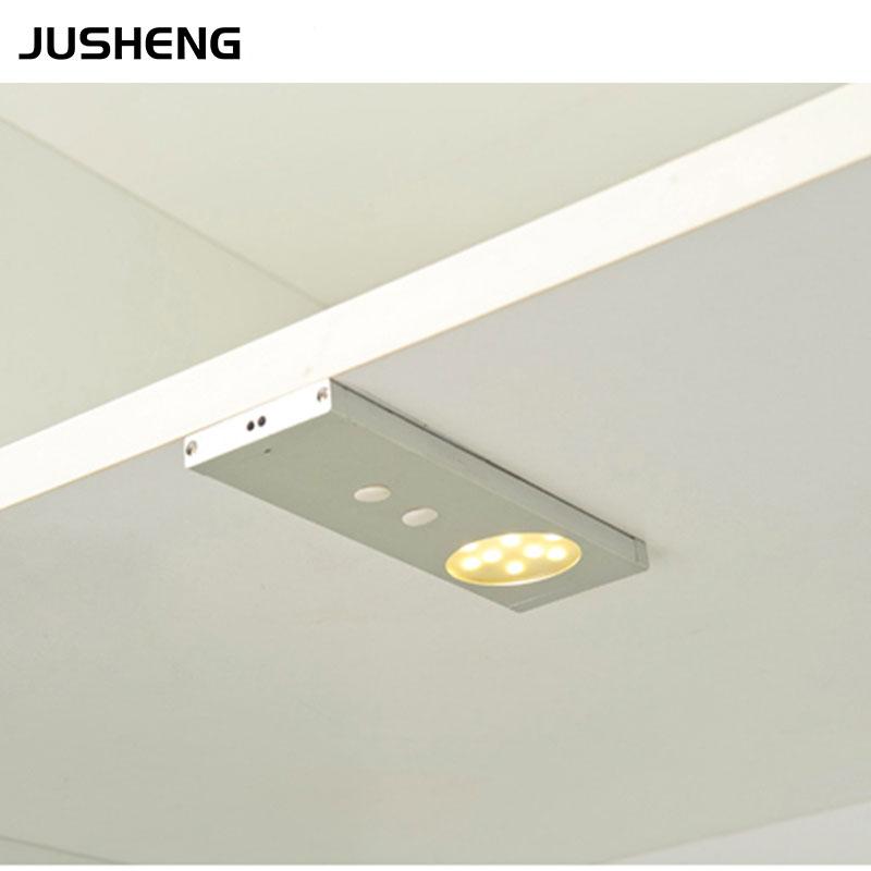 2016 led cabinet lights 12v 2w led sensor cabinet lighting fixture with door switch under wardrobe cabinet light switch