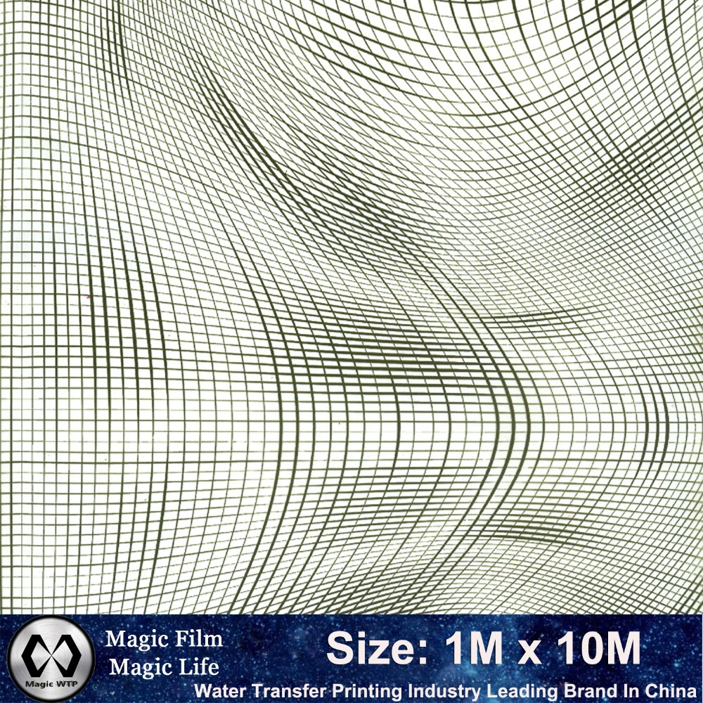 New Design Hydrographic Transfer Film Feature Design NO.MA67-1 Width 1M Length 10M Hydrographics Water Transfer Printing Film(China (Mainland))