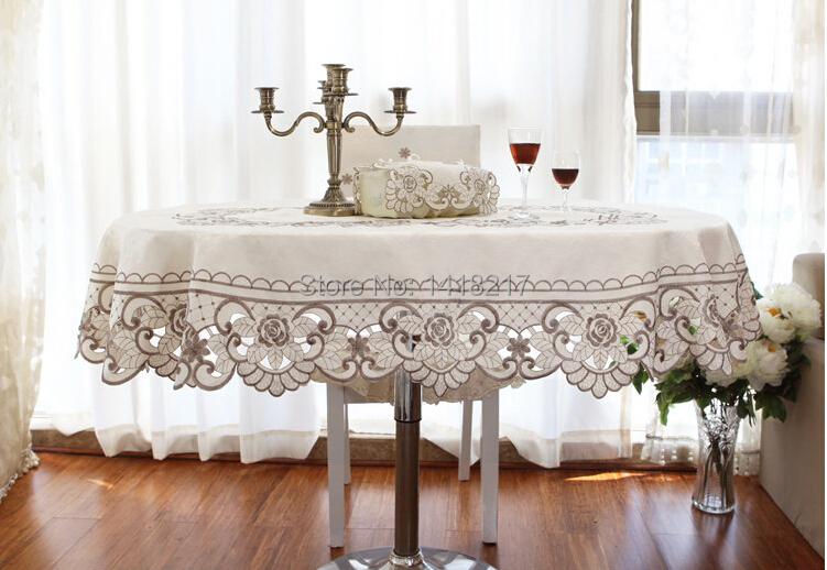 european simple tablecloth table cloth countryside