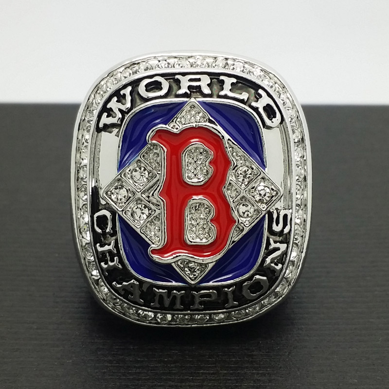 Solid 2004 Boston Red Sox MLB World Series Championship Alloy Ring 11 Size 'Anderson' Fans Gift Collection - ring store