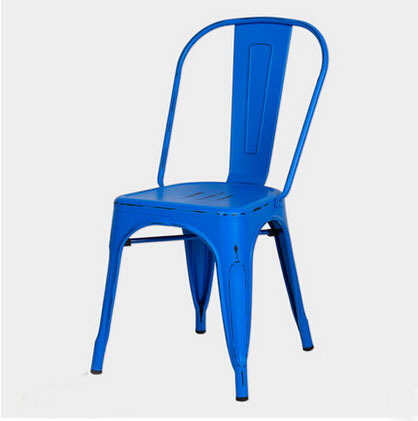 Free Shipping Blue Vintage Side Chair(China (Mainland))