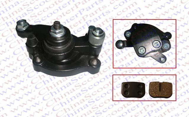 Rear Disk Brake Caliper 33CC 43CC 47CC 49CC Pocket Pit Dirt bike Pit Mini moto Atv Quad Gas E Scooter Parts(China (Mainland))