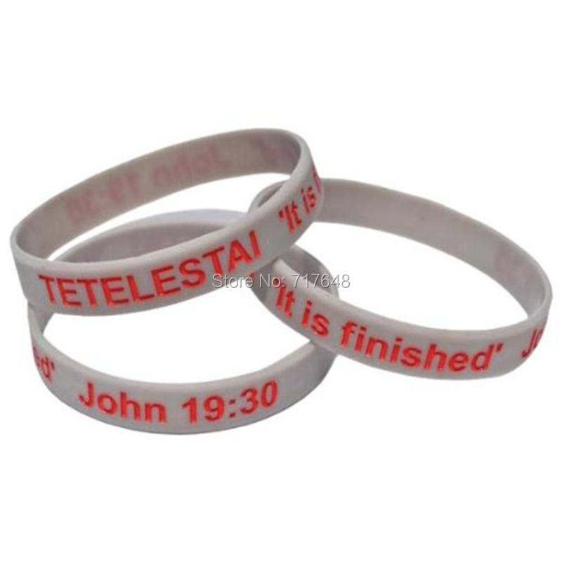 300pcs John wristband silicone bracelets rubber cuff wrist bands bangle free shipping by FEDEX express(China (Mainland))