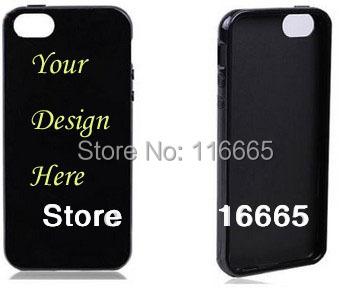 10 Custom TPU case iphone 5 5s ,Soft gel silicone cover oem customized design printing free DHL 20pcs/design - Evane Printing store