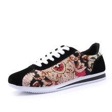 2016 Yeezy Mixed Color Lace-up Zapatillas Deportivas Mujer Autumn Shoes For Men Casual Canvas Fashion Top Footwear Quality Flat(China (Mainland))