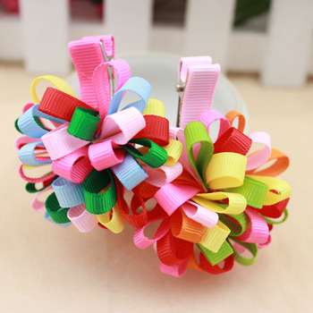 Min order is $10 freeshipping(mix order) kids Baby accessories children Girls jewelry baby headwear Hair clips color WD5627