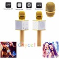 2016 Luxury Wireless Bluetooth Microphone K song voice tube micrphones For Conference Karaoke Teaching Meeting sing