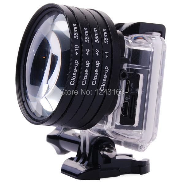 Lens Gopro 4 1 2 4 10 Lens Filter For
